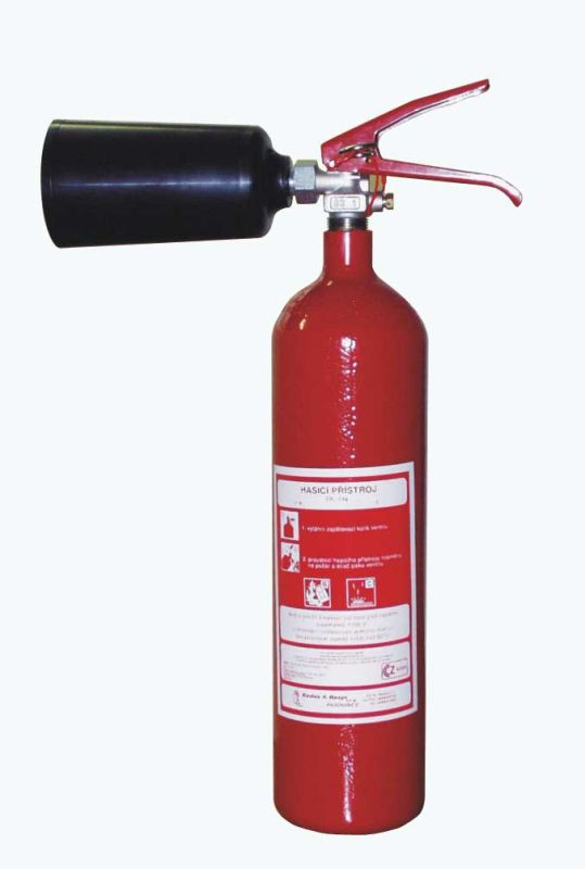 S 2 H - sněhový hasicí přístroj