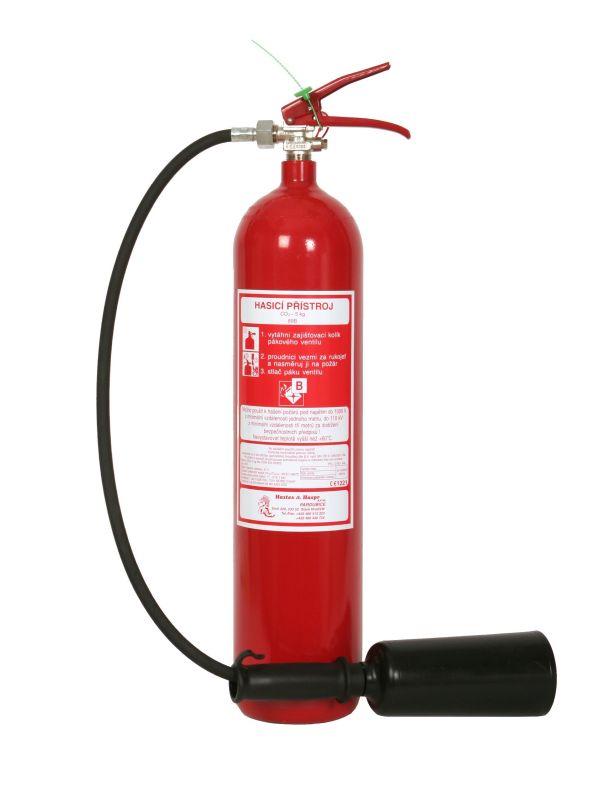 S 5 H - sněhový hasicí přístroj