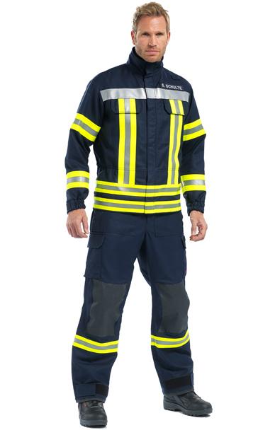 THL D Rosenbauer - zásahový jednovrstvý hasičský oblek