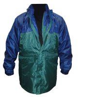 Univerzální bunda 5 v 1 MULTI PARKER zeleno-modrá