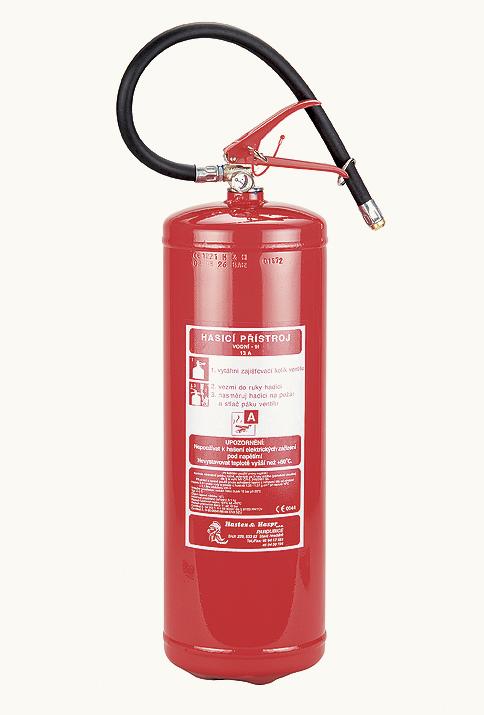 V9Ti - vodní hasicí přístroj