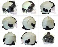 Verze FIRE (komplet, jiná přilba) - ukázka přilby ze všech stran