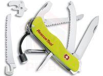 Victorinox RESCUE TOOL - nůž je určen pro profesionální využití. Tomu odpovídá kvalita zpracování a předpokládaná životnost – výrobce poskytuje doživotní záruku na materiál a výrobní vady, prostřednictvím dodavatelské firmy zajišťuje rovněž kompletní servis. V případě zakoupení nože této značky má majitel zajištěný slušný uživatelský komfort, zaručující, že mu zakoupený nůž bude úspěšně sloužit řadu let.