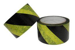 Výstražná samolepicí páska, ŽLUTO - CERNÁ - 5cm/33m