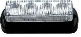 Výstražné LED světlo C4  modré