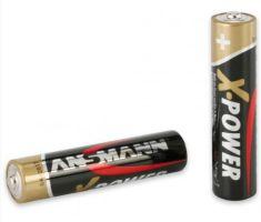 X-POWER AAA mikrotužková alkalická baterie